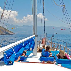 Fethiye to Olympos Cruise 4days/3nights